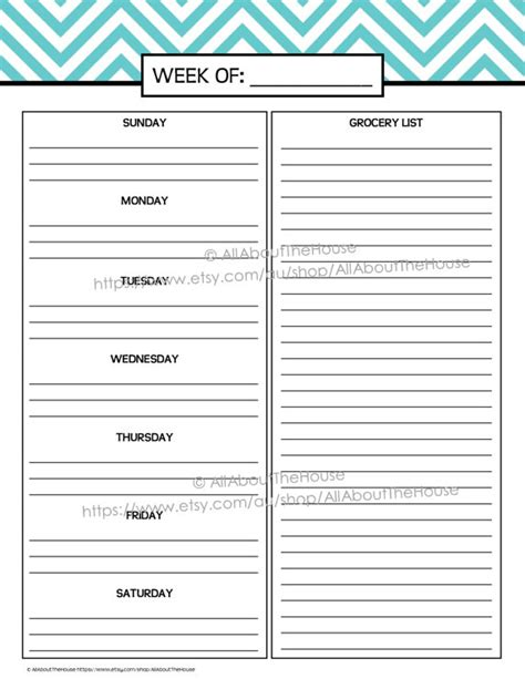 weekly day planner printable 2015 printable planner daily planner weekly planner by