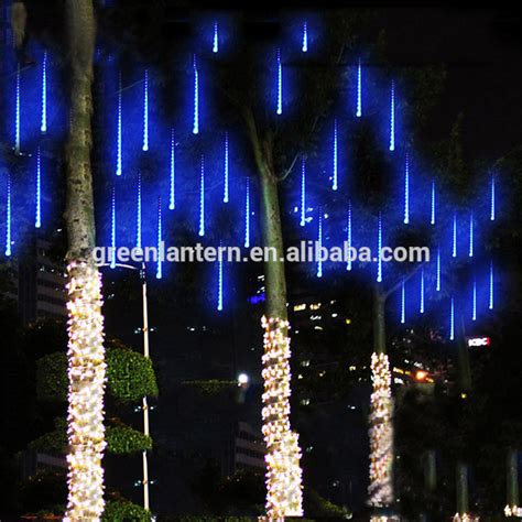 bright and modern raindrop christmas lights outdoor