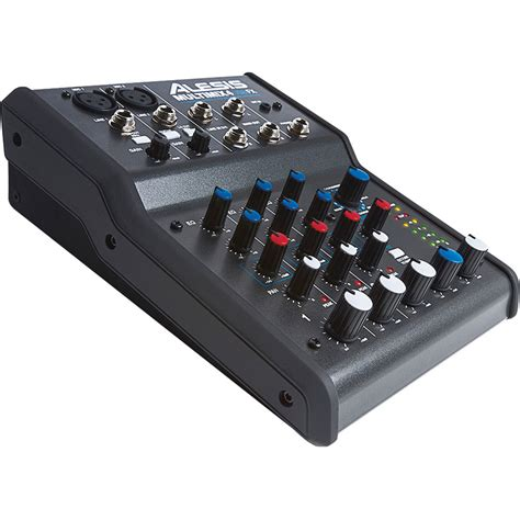 Mixer Audio Alesis alesis multimix 4 usb fx 4 channel mixer and multimix 4 usb fx