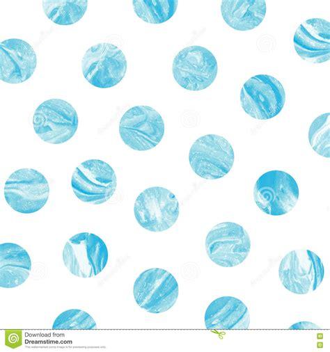 blue watercolor polka dots seamless pattern vector by evdakovka on blue marble polka dot watercolor pattern stock