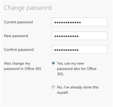 Change Password Office 365 by Knowledge Base 2tcloud