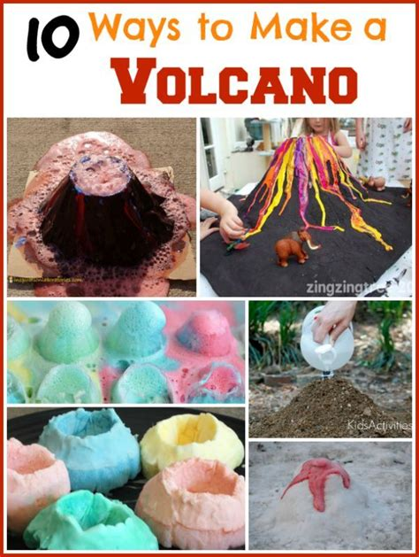 How To Make Volcano With Paper - best 25 volcano experiment ideas on