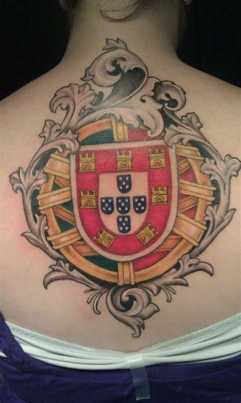 portuguese cross tattoo portuguese