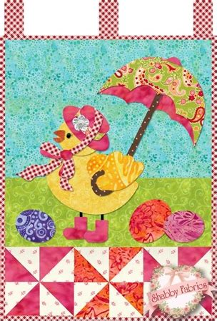 little blessings miss chickie traditional applique kit