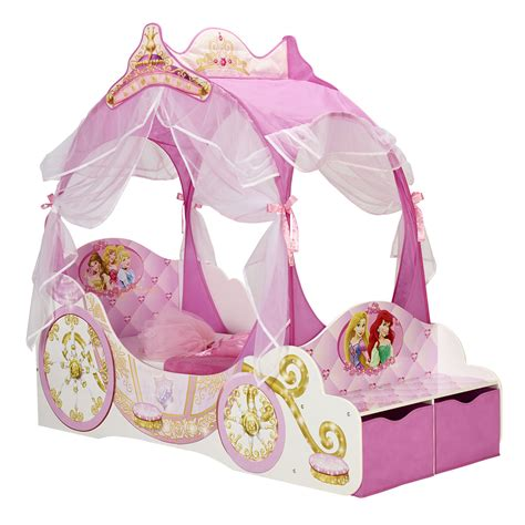mini maus bett room studio lit enfant en bois carrosse disney princess