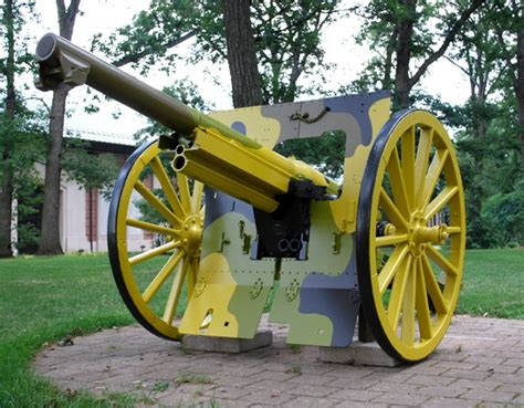 french 75mm french 75mm field gun tank park pinterest