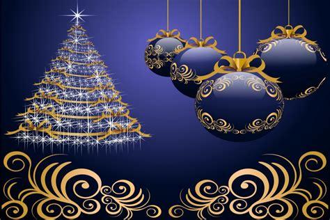 arbol navidad azul 193 rbol de navidad brillando en un fondo azul 73282