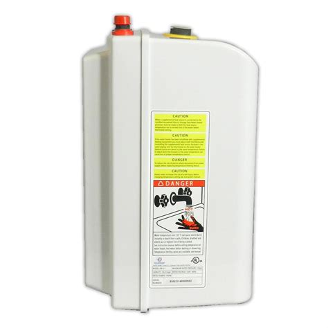Small Electric Water Heaters Canada Eccotemp Mini Tank Electric Water Heater 621036
