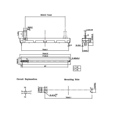 slide potentiometer wiring diagram wiring diagrams