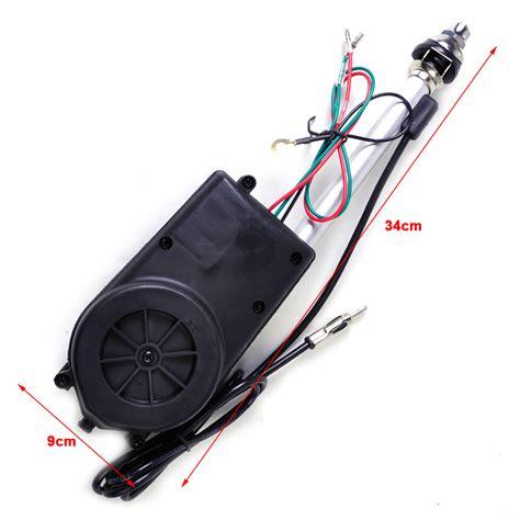 universal 12v car aerial automatic power antenna am fm radio mast signal booster ebay