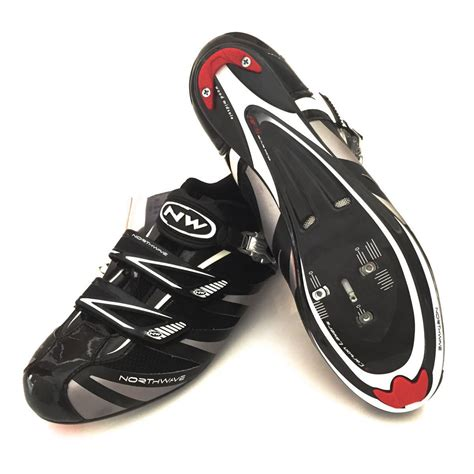 mens road bike shoes northwave evolution sbs s road cycling shoes black