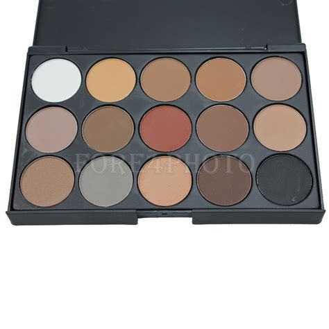 Eyeshadow Naked8 Matte Orange professional 15 colors warm matte shimmer eyeshadow