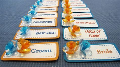 Wedding Name Tags by So Many Wedding Name Tags