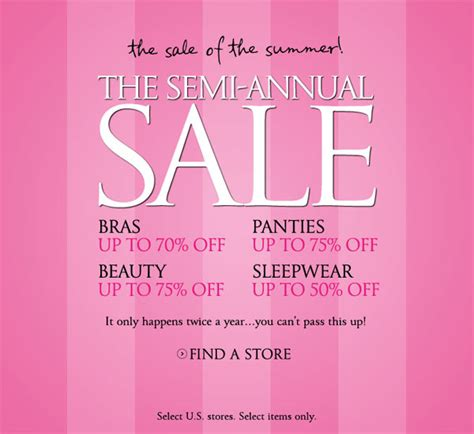 sale secret s secret semi annual sale 2017 dates scripto