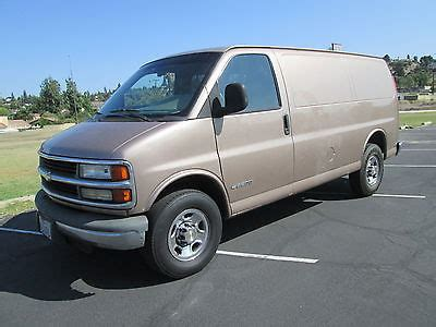 how does cars work 1999 chevrolet express 2500 security system 1999 chevrolet express cargo van cars for sale