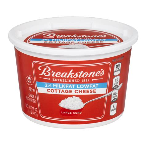 ingredients in cottage cheese breakstone cottage cheese ingredients breakstones cottage