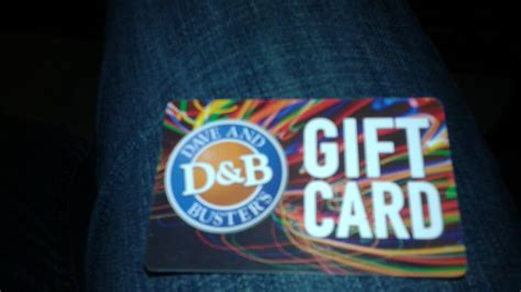Dave And Busters Gift Cards - another dave and buster s gift card by mylesterlucky7 on deviantart