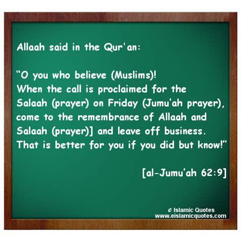 jummah friday islamic quotes on jummah friday e