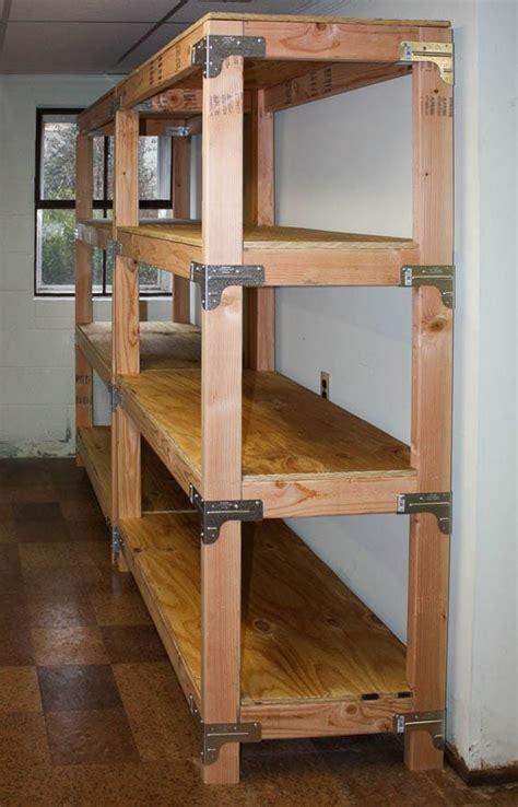 diy  shelving unit diy storage shelves diy garage