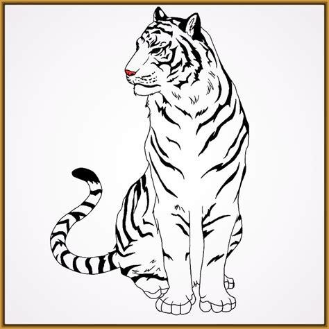 imagenes para pintar tigre dibujos de tigres para pintar e imprimir archivos fotos
