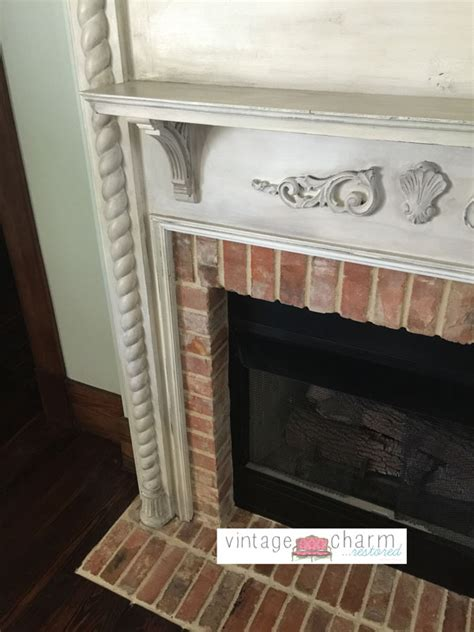 farmhouse fireplace mantel farmhouse fireplace makeover vintage charm restored