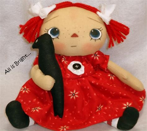 Handmade Raggedy Dolls For Sale - handmade teddy bears and raggedies may 2011