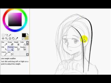 paint tool sai thai how to do vecter work in easy paint tool sai thai