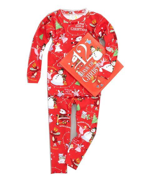 books to bed boys 12 days of christmas pajamas