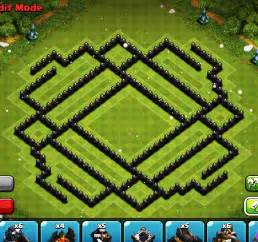 Clash of clans epic town hall 9 th9 trophy base youtube