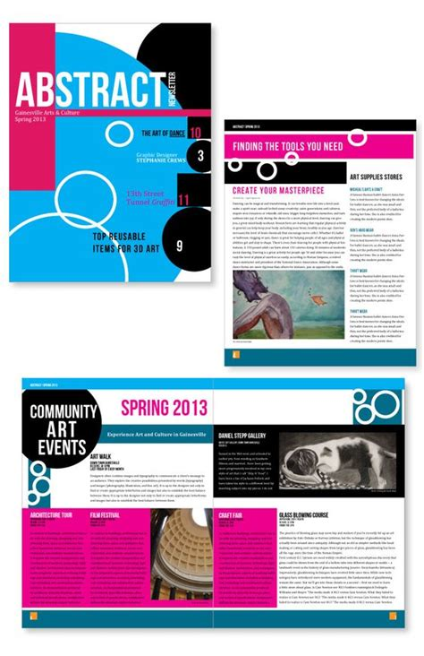 newsletter layout photoshop newsletter design adobe illustrator photoshop indesign