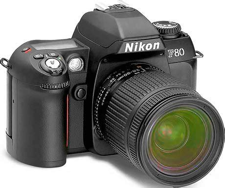 nikon – n80 35mm film slr camera with nikon 28 80 g af
