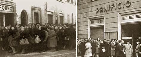 alimentazione durante la prima mondiale 1945 i razionamenti