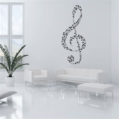 musical note wall stickers wallstickers folies musical note wall stickers