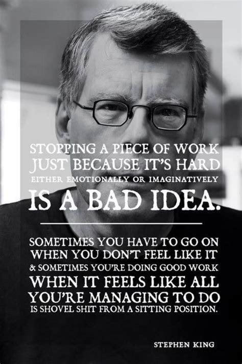 Stephen King Essay by Quotes On Writing Stephen King Quotesgram