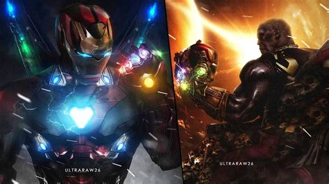 avengers iron man infinity gauntlet