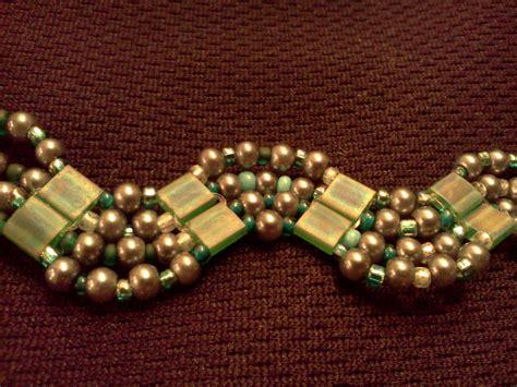 two types of tila bead bracelets hippiefreak