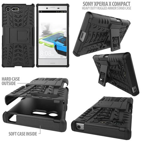Jual Stand Heavy Duty Rugged Armor Sony Xperia Z2 Murah sony xperia x compact heavy duty rugged armor stand