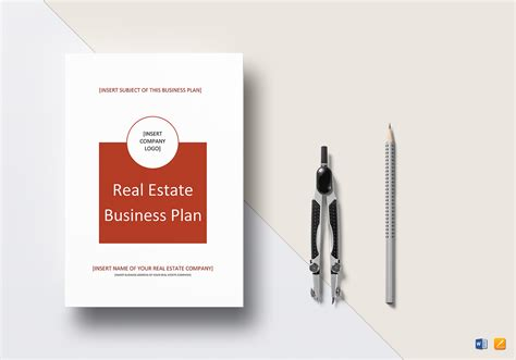 real estate business plan template real estate business plan template in word docs