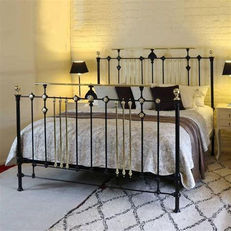 gothic bed frame for sale wide gothic style brass and iron bed msk31 for sale at