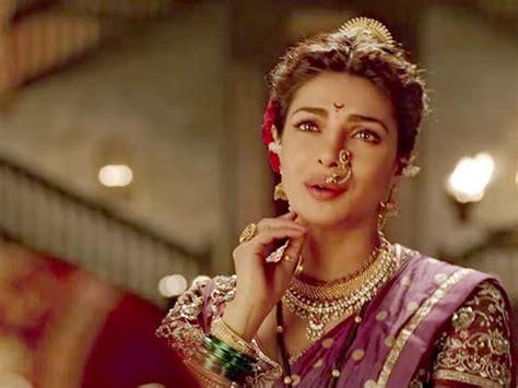 priyanka chopra hairstyle in pinga bajirao mastani priyanka and deepika in pinga boldsky