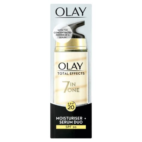 Serum Olay Total Effect olay total effects 7 in 1 moisturiser serum 40ml clicks