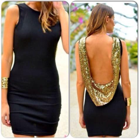 Lowback Dress dress black dress low back wheretoget