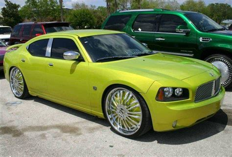 custom dodge cars 2007 dodge charger low rider car picture and new car
