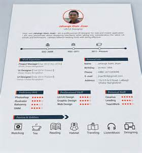 Resume Portfolio Template 10 best free resume cv design templates in ai mockup psd collection