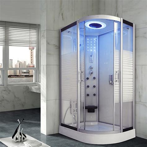 Bathroom Shower Cubicle Model 137 W 800x1200mm L No Steam Shower Cubicle Enclosure Bath Quadrant Cabin Room Hydro