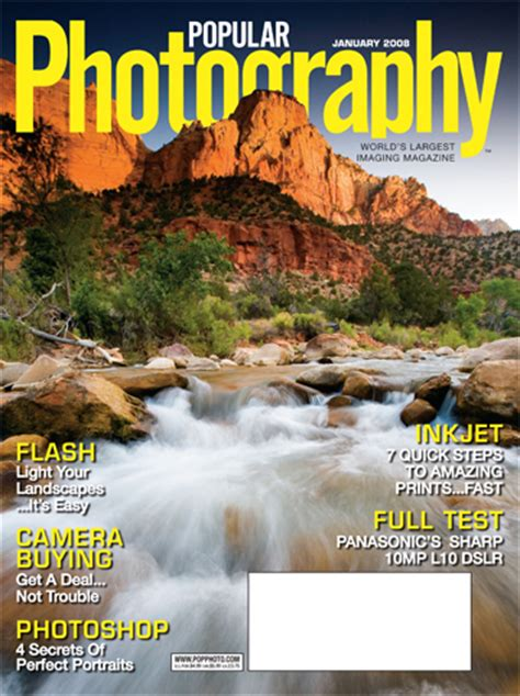 ian shive on the cover of popular photography magazine