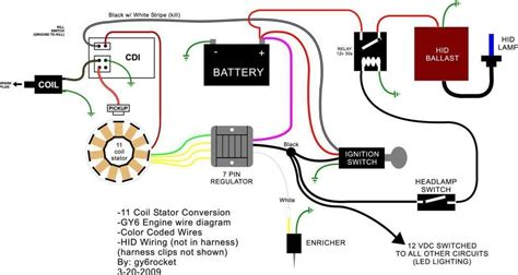 gy6 rectifier regulator wiring diagram 38 wiring diagram