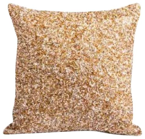Decorative Beaded Pillows by Didi Beaded Pillow Blush Colored