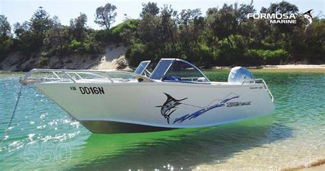 offshore fishing boats for sale qld new formosa tomahawk offshore 520 bowrider power boats