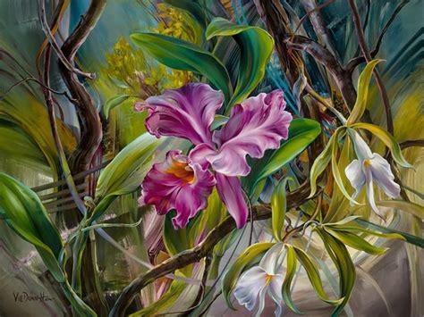 wallpaper bunga es 29 gambar lukisan bunga seni rupa